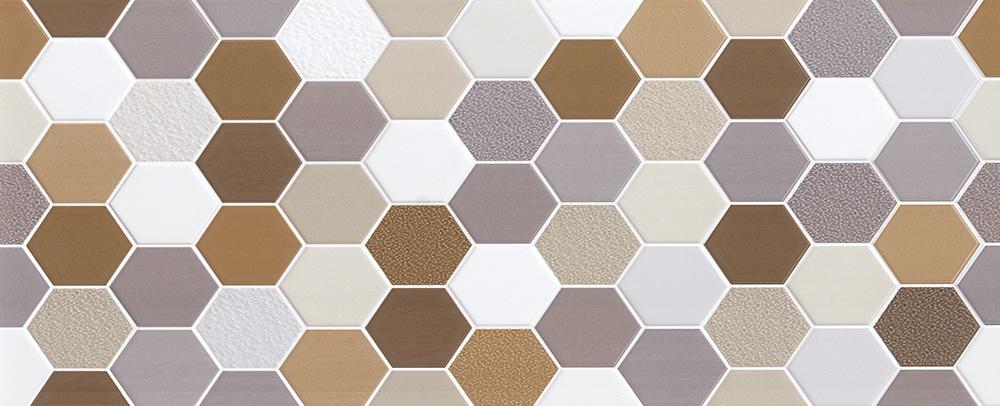 Cerámica Hexagonal Colores 30X60